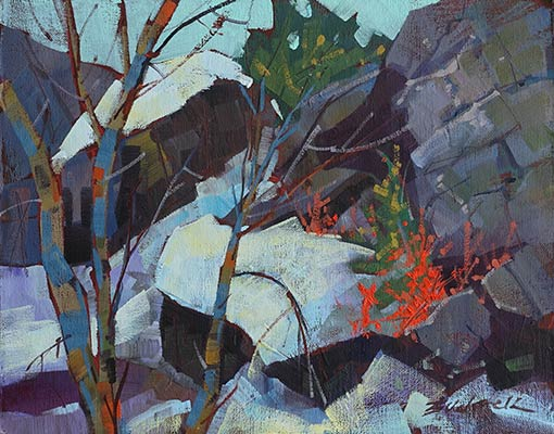Escarpment-Spring--Oil