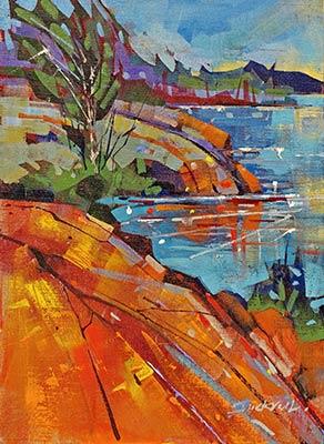 Kilbear-Shoreline--Acrylic